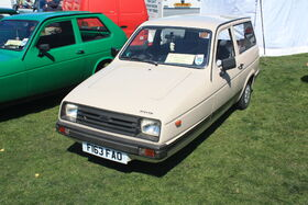 Reliant Rialto - F163 FAO at Wollaton park 2011 - IMG 0766