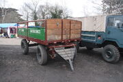 Traction wagon (187 XUN) at GCR 2013 IMG 8395