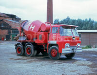 A 1960s GUY Warrior Cement Lorry Diesel