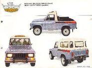 PORTARO Celta 210PT 2200 TURBO 4X4 gasolina de 1982