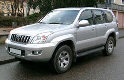 Toyota Land Cruiser front 20071126