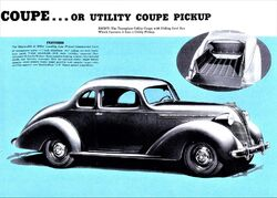 1937 Terraplane Utility Coupe Pickup