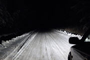 2005 winter road dipped beam