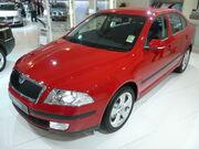 2007-2008 Škoda Octavia (1Z) Elegance sedan 01
