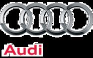 Audi logo detail