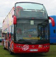 Ayats Bravo open top bus