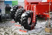 Firestone tyre stand at LAMMA 2013 IMG 6159
