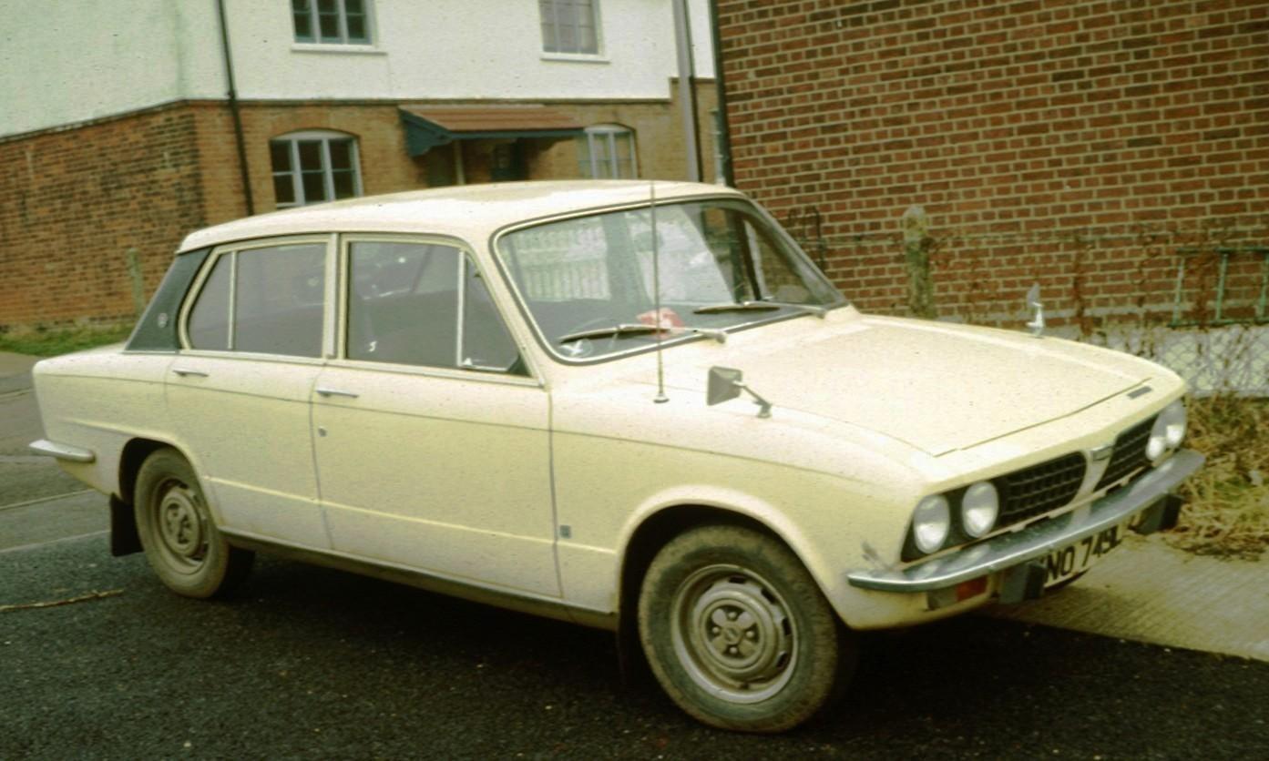 TRIUMPH Toledo 1300      FAN BELT 1970-76