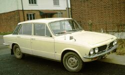Triumph Dolomite Early one in England