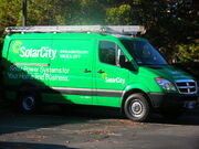 2009 SolarCity Dodge Sprinter side