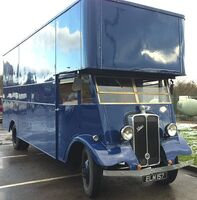 A 1930s GUY Vixen Furniture Lorry Petrol engined