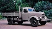A 1960s JIEFANG CA 10 Petrol engined