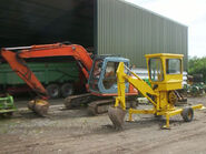 A 1980s Smalley MK2 Minidigger