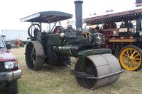 Aveling & Porter no. 10072 roller of 1922 reg YA 3783 at Scorton 09 - IMG 4929