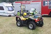 Bombardier Outlander ATV - Fire rescue bike -Bill targett rally 2011 - IMG 4904