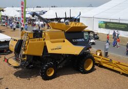 Claas Lexion 770 combine (yellow) - 2011