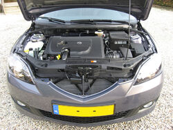 Commonrail turbodiesel Mazda3 2007