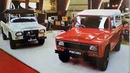 GV PORTARO 4X4 no Salão Automovel de Genebra em 1978