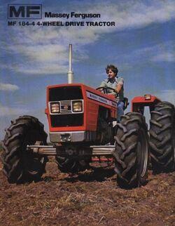 MF 184-4 MFWD (Landini) brochure