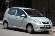 Perodua Viva (first generation) (front), Kuala Lumpur