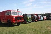Thornycroft lineup at Milestones - Hampshire RR 09 - IMG 4247