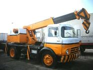 1970s Barreiros Saeta Diesel Cranetruck