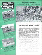 Ferguson-Sherman 4-row weeder ad