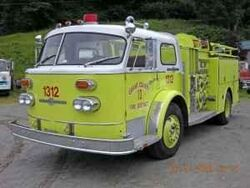 Tacoma Engine 17 - 1970 American LaFrance Fire Engine