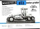 A 1970s Wakefield 613 motorgrader
