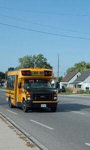 Canadian School Bus
