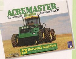 Horwood Bagshaw Acremaster 2000 series 4WD brochure