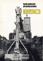 MF 250 excavator