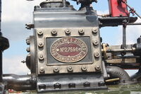 Ransomes Sims & Jefferies no. 27596 mfc plate - Picture 784