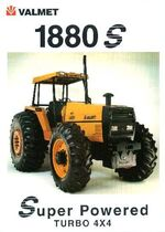 Valmet 1880S MFWD ad (orange) - 1998