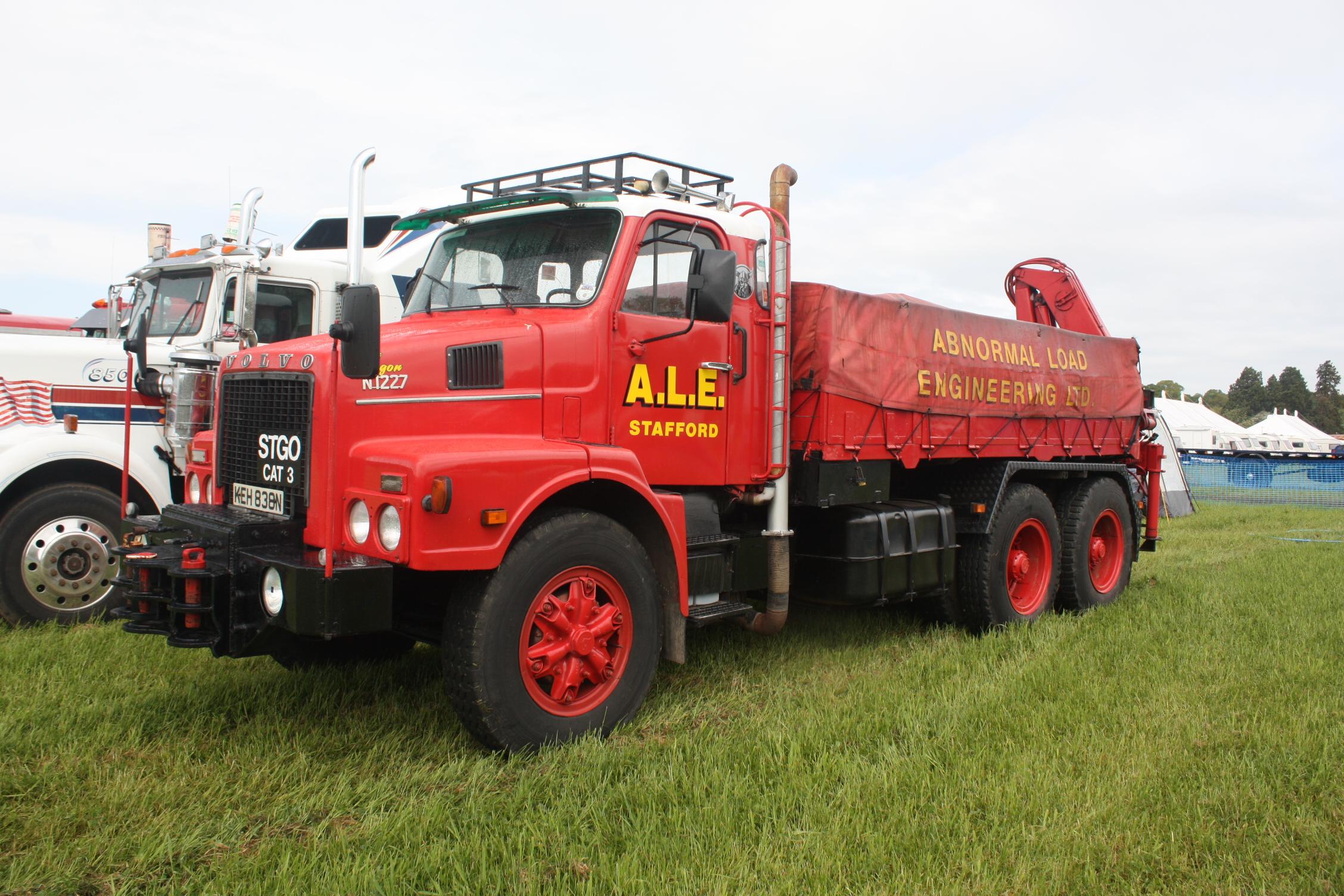 ALE Volvo N1227 reg KEH 838N at Belvoir 09 - IMG 8386
