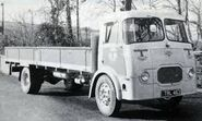 A 1950s Rowe Hillmaster Cargo Lorry Diesel 4X2 in Cornwall