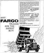 Fargo truck ad