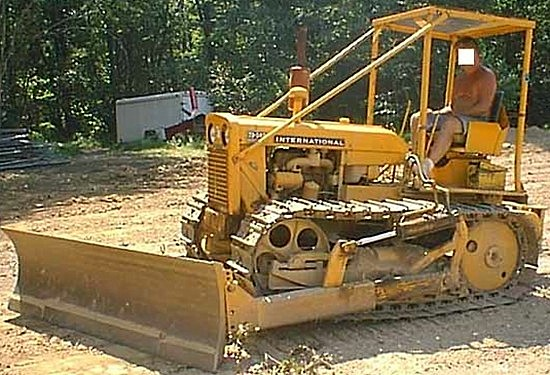 IH TD8 Construction Equipment t Ih Tractor and Heavy