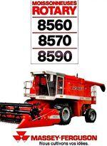 MF 8590 combine (MASSEY)