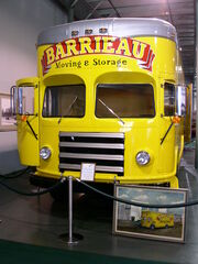 1953 international fageol moving van