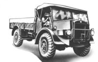 A 1940s GUY Lizard Cargolorry 4WD