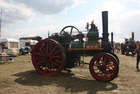 Davey Paxman no. 16849 - TE - Little Audrey - AF 3373 at Hollowell 2011 - Picture 778