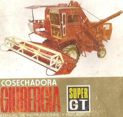 Giubergia Super GT combine brochure