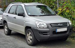 Kia Sportage front 20091003