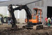 Priestman Beaver hydraulic excavator at AB WD 2013 - IMG 7683