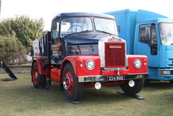 Scammell Highwayman - ballast tractor - James William - 234 BGO -at Lincoln 2011 - IMG 0692