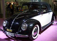 VW Hebmüller-Cabriolet bicolor vl TCE