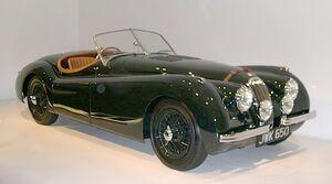 1950 Jaguar XK120 34