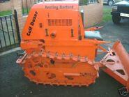 A 1950s Aveling Barford Calfdozer Diesel preserved