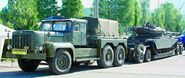 A 1960s Rotinoff Super Atlantic Military Haulage